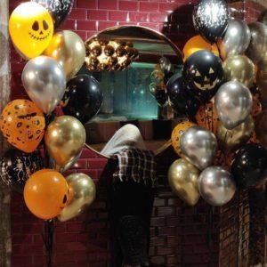 Ilmapallokoristeet Halloween juhliin