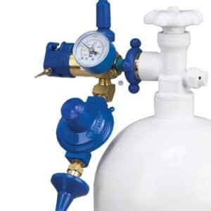 Helium kaasu ja täyttötarvikkeet