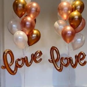 Ilmapallokoriste Love juhliin
